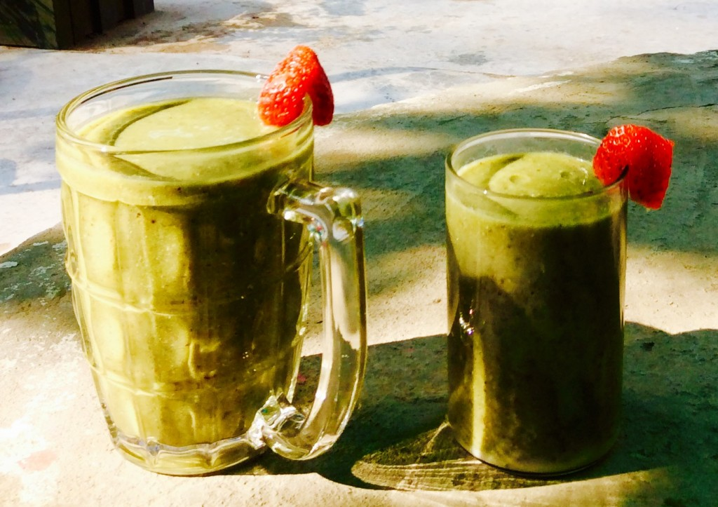 Simple yummy green smoothie for beginners